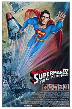 Superman IV: The Quest for Peace. Cannon Films 1987.
