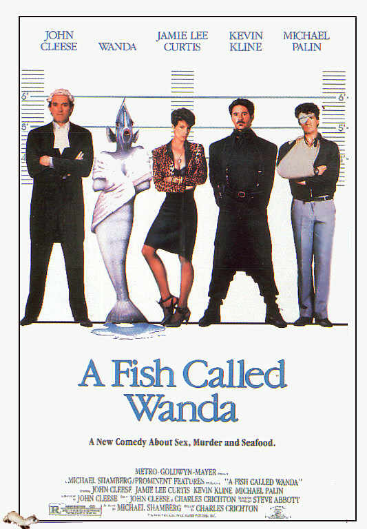 1988 yesterday 39 s movies for A fish called wanda cast