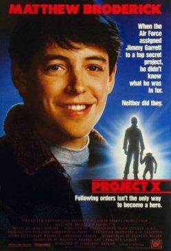 Project X. Parkes-Lasker Productions 1987.