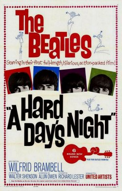 A Hard Day's Night. Proscenium Films 1964.