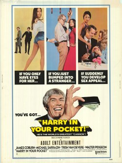 Harry In Your Pocket. Cinema Video Services 1973.