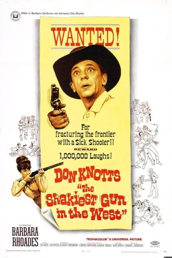 The Shakiest Gun in the West. Universal Studios 1968.