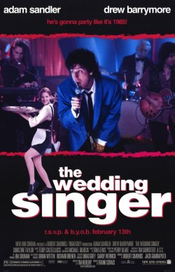 The Wedding Singer. New Line Cinema 1998.