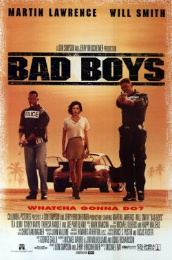 Bad Boys. Don Simson/Jerry Bruckheimer Films 1995,