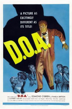 D.O.A. Cardinal Pictures 1950.