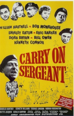 Carry On, Sergeant. Peter Rogers Productions 1958.