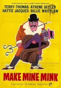 Make Mine Mink. The Rank Organization 1960.