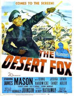 The Desert Fox. 20th Century Fox 1951.