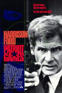Patriot Games. Paramount Pictures 1992.