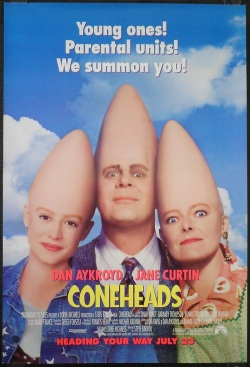 Coneheads. Paramount Pictures 1993.