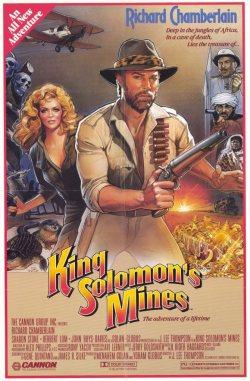 King Soloman's MInes. Golan-Globus 1985.
