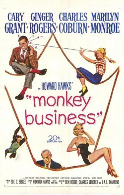 Monkey Business. Twentieth Century Fox 1952.