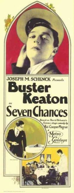 Seven Chances.  Buster Keaton Productions/Metro-Goldwyn Pictures 1925.