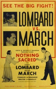 Nothing Sacred. Selznick International Pictures 1937.