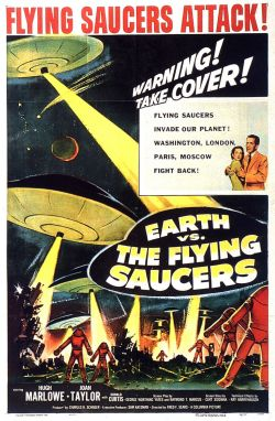 Earth vs the Flying Saucers. Clover Productions 1956.