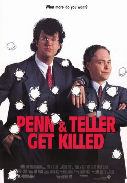 Penn and Teller Get Killed. Lorimar Film Entertainment 1989.