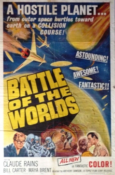 Battle of the Worlds. Ultra Film 1961.