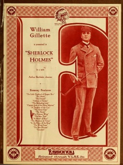 Sherlock Holmes. Essanay Studios 1916.