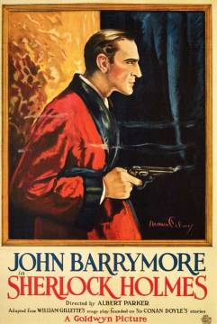 Sherlock Holmes (/Moriarty). Goldwyn Pictures Corporation 1922.