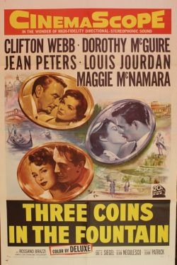 Three Coins in the Fountain. 20th Century Fox 1954.