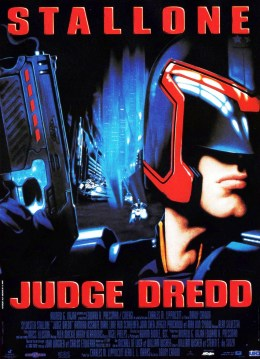 Judge Dredd. Hollywood Pictures 1995.