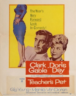 Teacher's Pet. Paramount Pictures 1958.